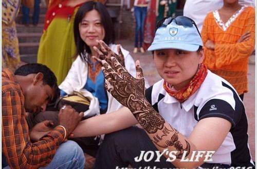 【印度】Henna初體驗,不想刺青又想體驗的玩這個就對了!!