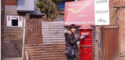 【印度】Pahalgam郵局,應該沒有比他還破的郵局了吧...