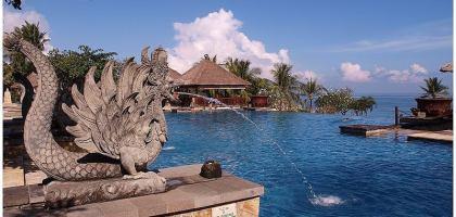 【峇里島】AYANA阿雅娜Resort 在絕佳的美景旁,享受早餐是種奢華的幸福!