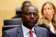 Der kenyanische Vizepräsident Ruto vor dem Tribunal in Den Haag. (Bild: AP)