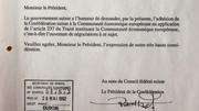 Das Gesuch um Aufnahme von Beitrittsverhandlungen vom 20. Mai 1992. (Bild: pd)