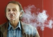 Er habe die französischen Intellektuellen mit seinen Grenzüberschreitungen befreit, sagt Michel Houellebecq. (Bild: Andreu Dalmau / EPA)