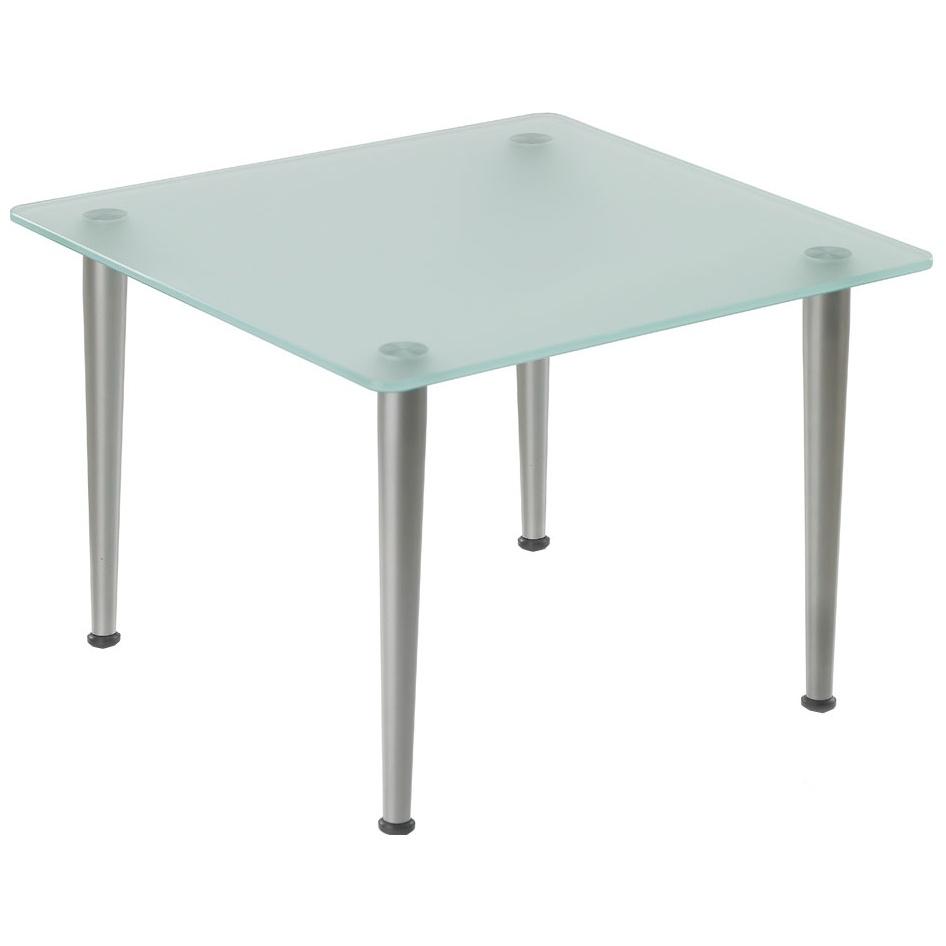 pledge nova square glass coffee table