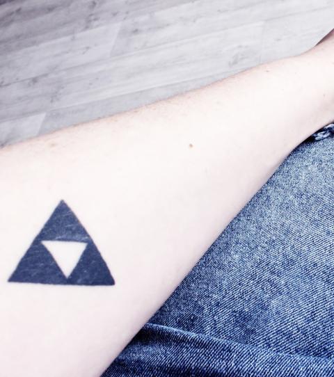 Oberarm Lowen Tattoo