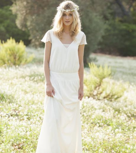 Boho Stil Brautkleider Beilaufige Mutter Des Brautigams Kleidet