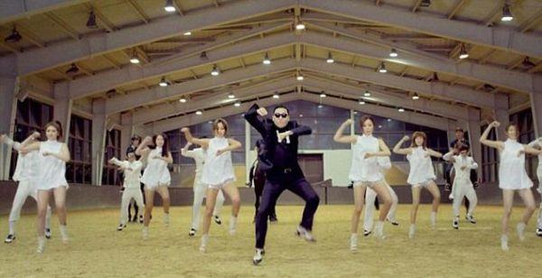 Video klip Gangnam Style dari Psy yang mendunia (Foto: dailymail)