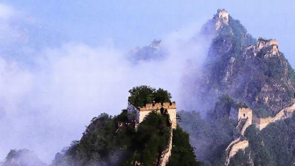 JIankou, Tembok Besar China (FotoL hikingwall)
