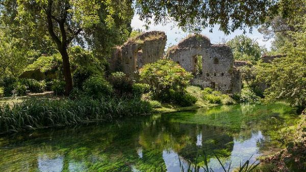 Taman Ninfa, Italia (Foto: TheAge)