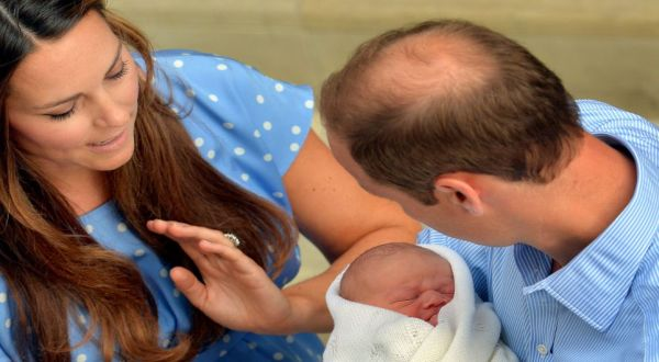 Bayi William dan Kate (Foto: PA)