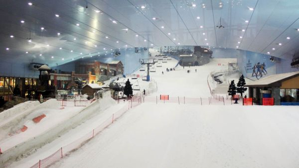Dubai Ski Indoor (Foto: Mtrip)