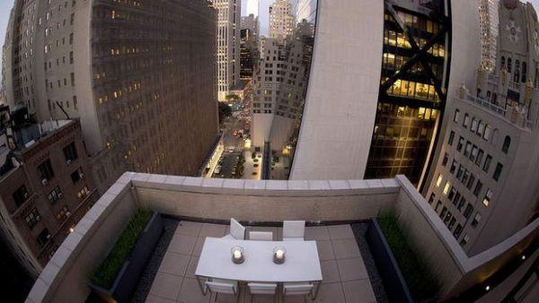 Pemandangan yang disajikan hotel di New York (Foto: SMH)