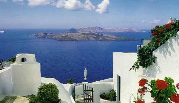 Pulau Santorini (Foto: alexandra)