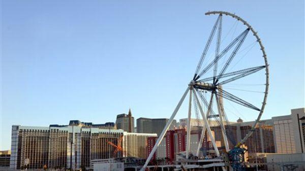 Bianglala tertinggi dunia di Las Vegas hampir selesai dibangun (Foto: FoxNews)
