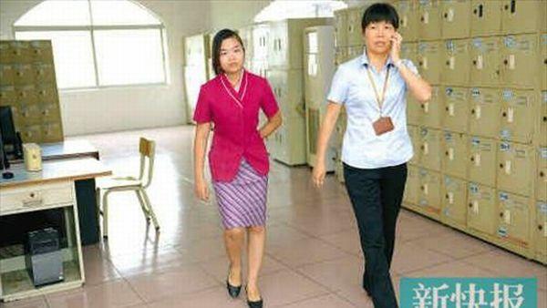 Luo Siqi (kiri) yang