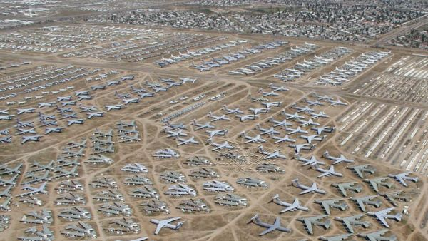 Pinal Airpark Arizona, Amerika Serikat (Foto: designspy)
