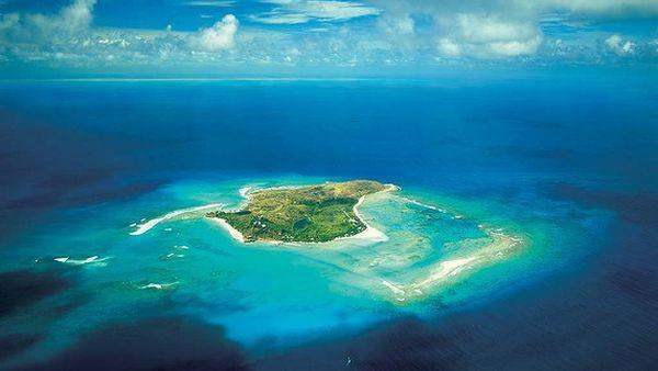 Pulau Necker milik Richard Branson (Foto: SMH)