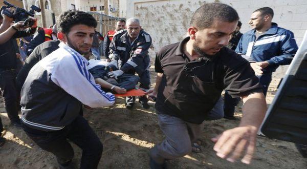 Foto : Warga sipil Gaza jadi korban serangan Israel (reuters)