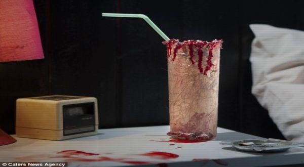 Foto : Cocktail berdarah (Caters News Agency)