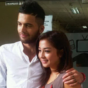 Nikita Willy & Diego Michiels (foto: Egie Gusman/Okezone)