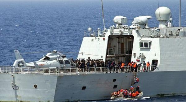 Foto : Kapal tempur China (IST)