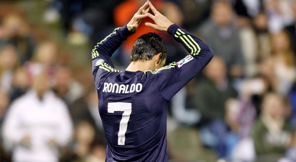 Cristiano Ronaldo dos Santos Aveiro terjerat problema asmara pribadinya (Foto: Reuters)