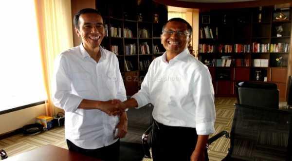 Dahlan Iskan dan Jokowi kolaborasi bangun rusun di Jakarta (Foto: Heru H/Okezone)