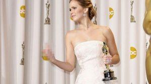 Raih Oscar, Jennifer Lawrence Diejek Lawan Mainnya