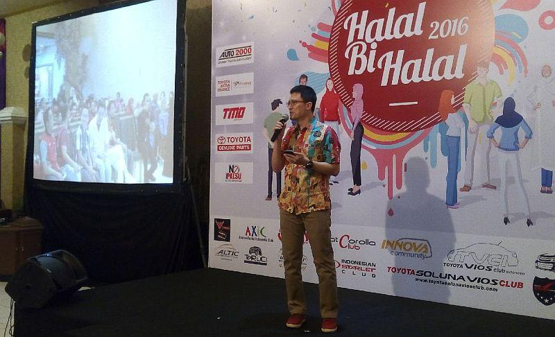 Toyota Owner Club Gelar Halal Bihalal Sambil Bahagiakan Lansia