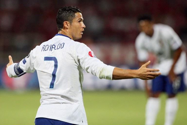 Cristiano Ronaldo (Foto: AFP/Gent Shkullaku