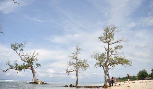 Pantai Lhok Mee (Foto: Salman/okezone)