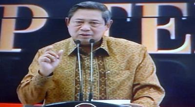 Presiden Susilo Bambang Yudhoyono (Foto: Susi/Okezone)