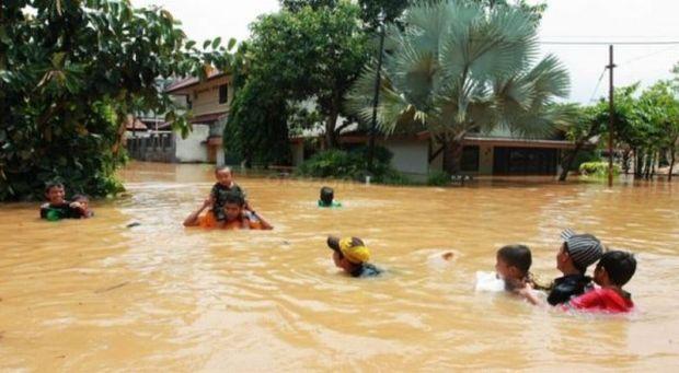 Pemrov Jabar Janjikan Bantuan Untuk Bangun Kolam Retensi di Bekasi
