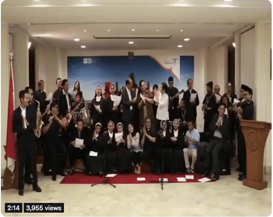 Meriahkan Lebaran Kbri Vatikan Nyanyikan Lagu Untuk Umat Muslim