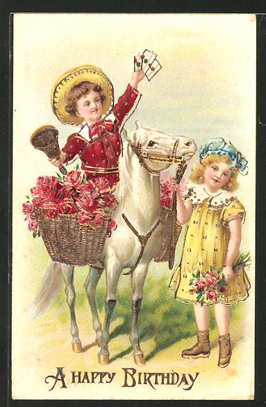 Geburtstag Pferd Spruch Pferdeliebhaber Reiter
