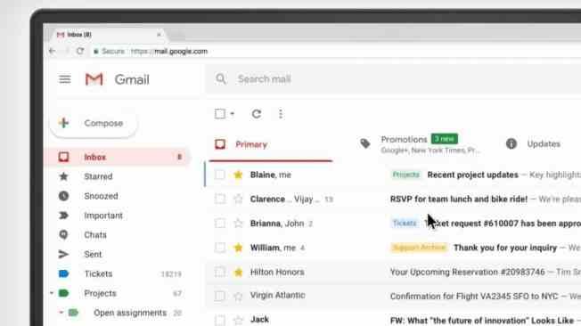 Risultato immagini per gmail