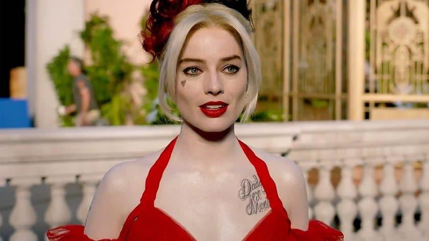 Margot Robbie is Dr. Harleen Quinzel / Harlequina in 'The Suicide Squad' (2021). Image: Warner Bros. Pictures/Disclosure