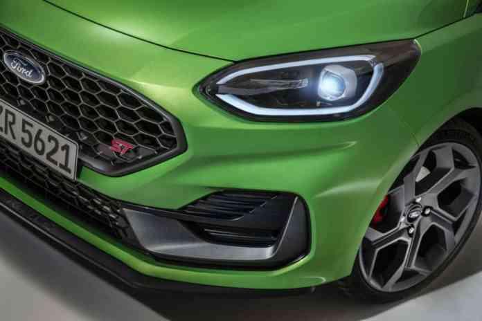detalhe do Ford Fiesta ST