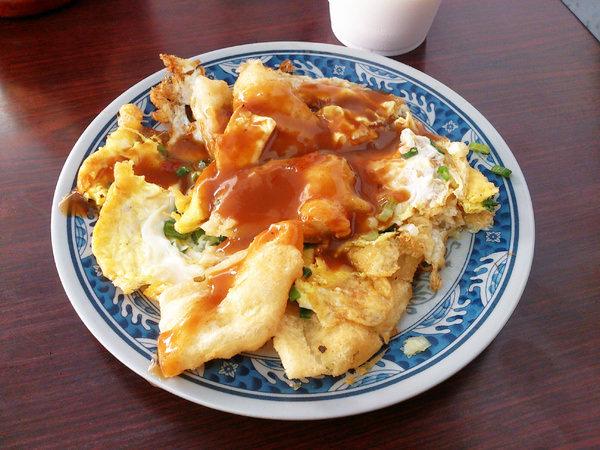 """【新北三重早午餐】三重蛋餅大王雙蛋蛋餅  *♥三重超排隊早餐""""好吃雙蛋蛋餅"""