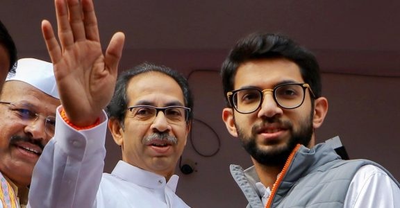 Uddhav Thackeray and Aditya Thackeray