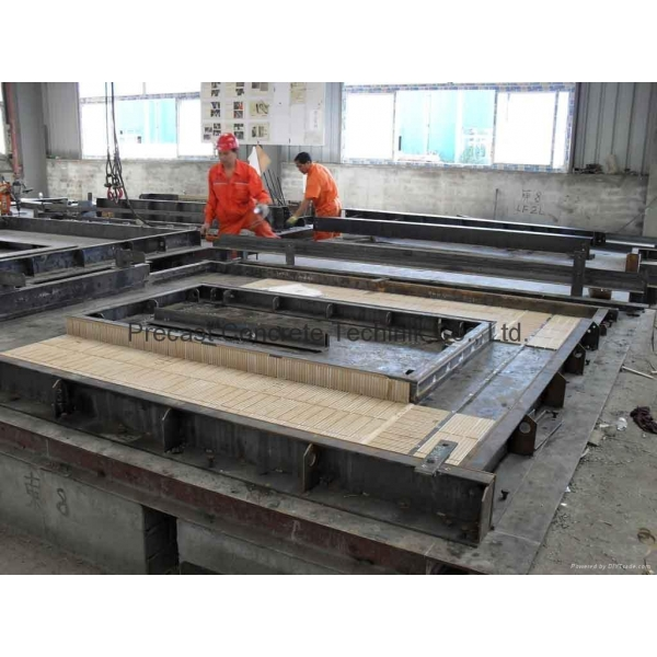 Quality Precast Concrete Double-T Steel Form & Mold For