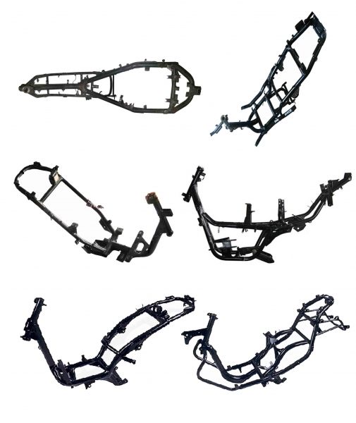 Scooter Frame Parts Images