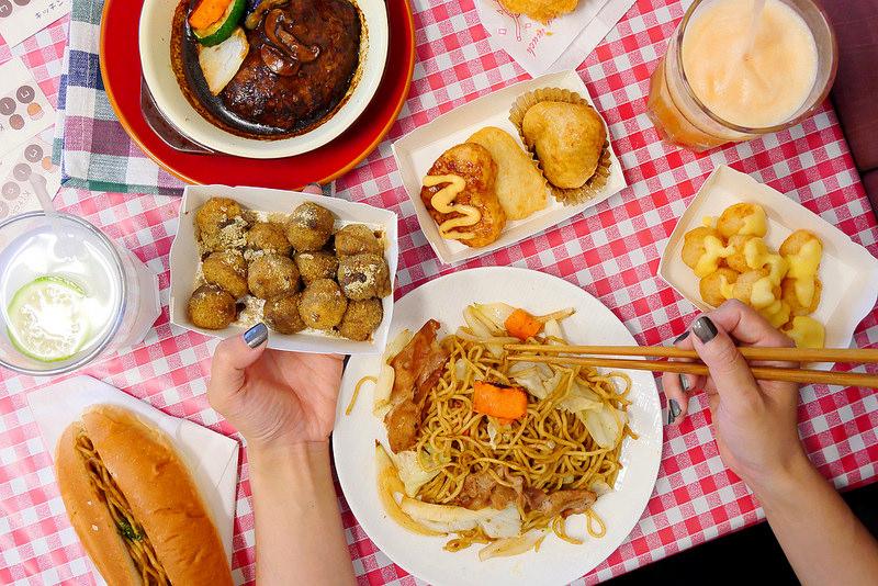 【台中甜點】伊摩奇MICORO 向上市場│西區:網友大好評 親切日本媽媽手作日本點心 馬鈴薯麻糬點心Q彈好吃!現在還有蛋包飯 漢堡排 咖哩飯家庭料理選擇好多!