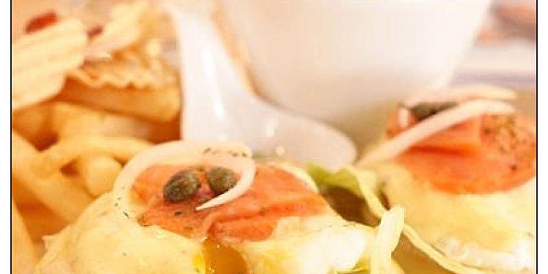 【台中散策食記】ALL LOVELY FOOD Cafe':前衛工業風咖啡館~大啖美味班尼迪克蛋