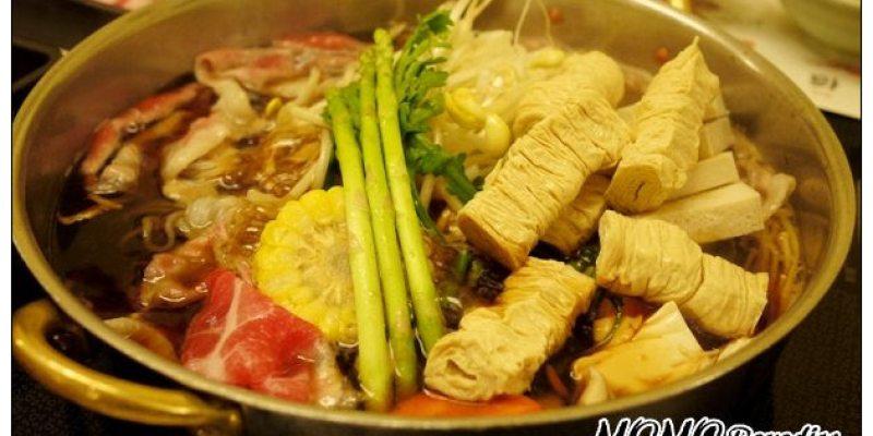 【台中散策食記】MOMO PARADISE壽喜燒:無限暢食大吃肉~怎麼會豬肉都還是比牛肉好吃咧