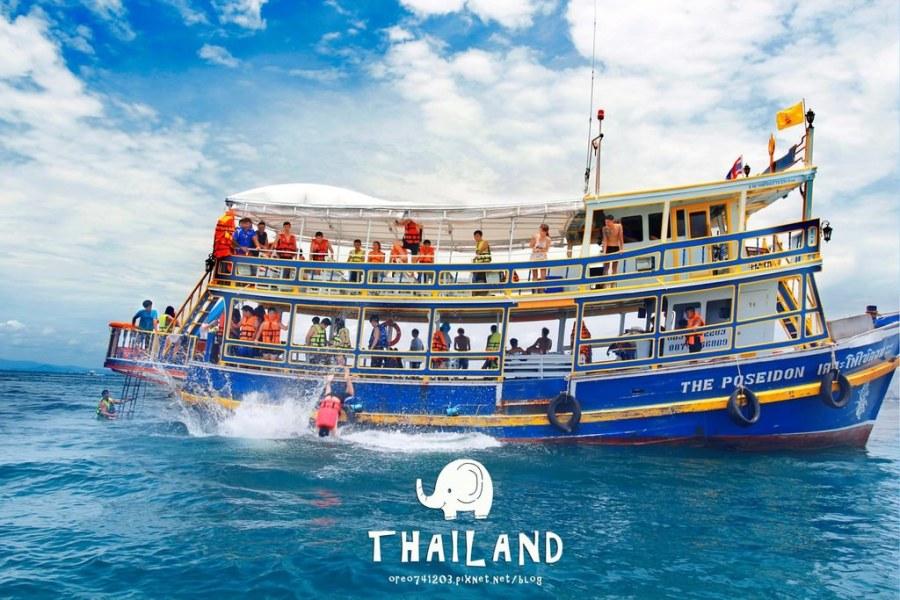 旅遊心假期►泰國畢業旅行DAY3~PATTAYA出海一日遊包船活動