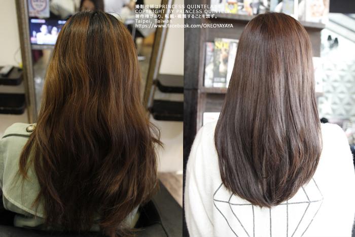 中山站美髮。FIN HAIR SALON染髮分享。OLAPLEX髮質還原