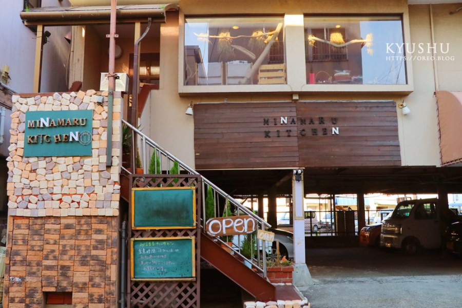 九州水俁咖啡廳│小小間但很有質感的南法風MINAMARU KITCHEN