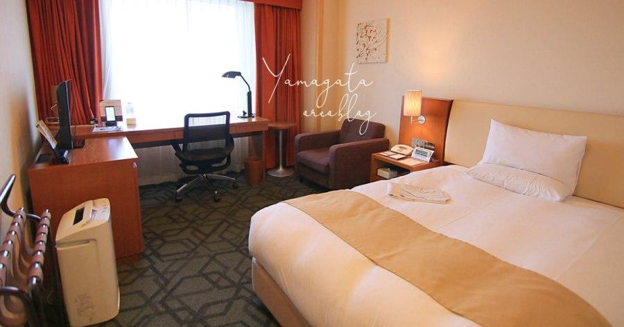 山形飯店推薦│山形大都會飯店Metropolitan~和車站相通超級近!房間很大又便宜!