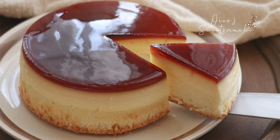 烘焙筆記│水晶焦糖布丁蛋糕做法~失敗原因整理~焦糖分離?脫模脫不下來怎麼辦?脫模很醜怎麼救?