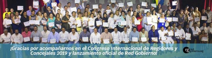 Asistentes Congreso Internacional Regidores y Concejales 2019 - Instituto Mejores Gobernantes